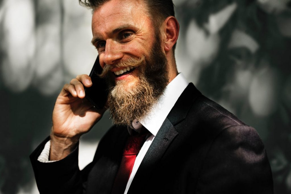 Actor Making Sales Call