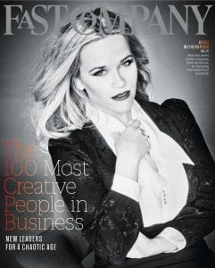 Reese Witherspoon in Fast Company (June 2018)